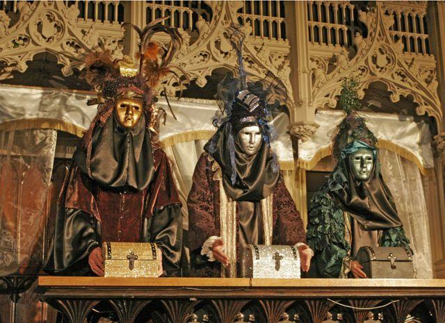 Merchant of Venice ( 2010) : Casketbearers