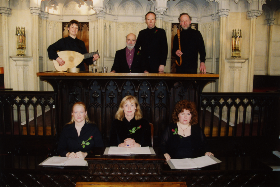 Blood Red Roses Company of Actors & Musicians in Shire Hall