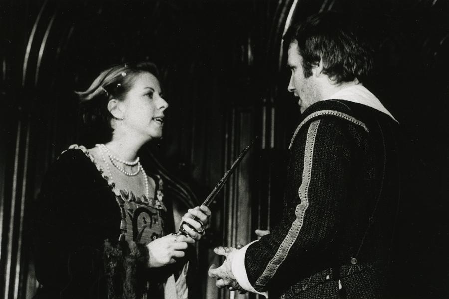 MacBeth: Helen Kay (Lady MacBeth) & Simeon Truby (MacBeth)
