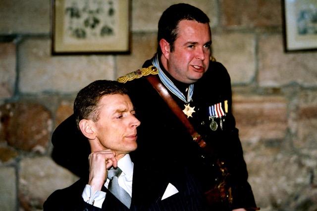 Richard III: C P Hallam (Buckingham) & Howard Chadwick (Richard)