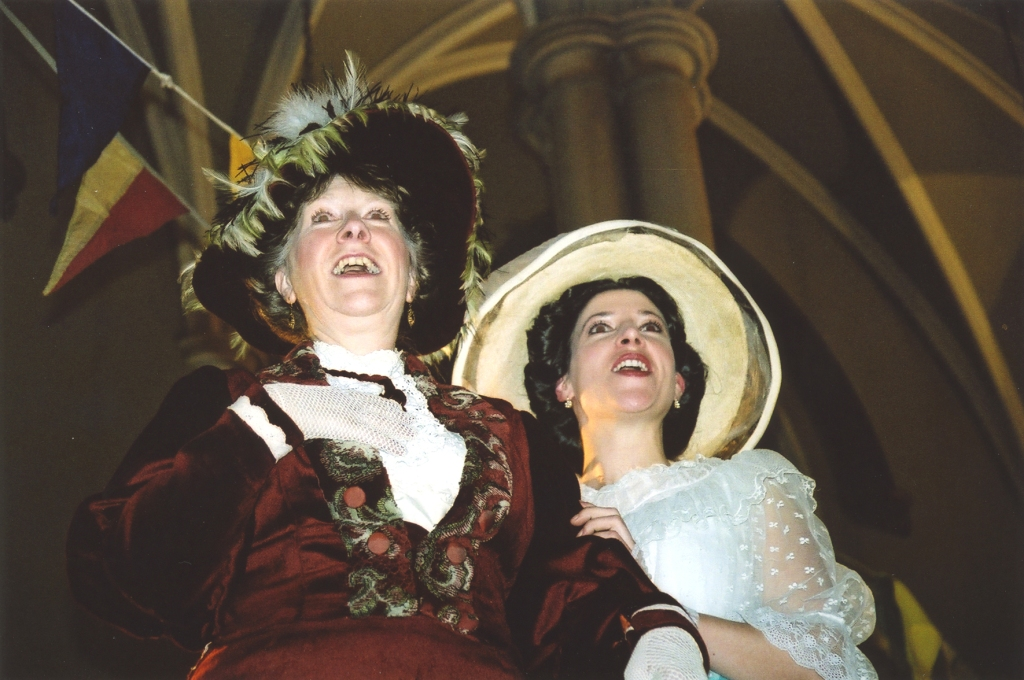 All's Well That Ends Well (2004) : Christine Bissell (Widow of Florence) & Amy Rhiannon Worth (Diana)